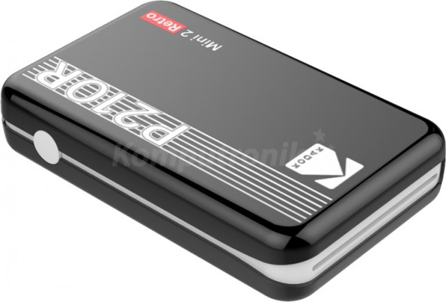 Kodak Printer Mini 2 Plus Retro Czarny - zdjęcie główne