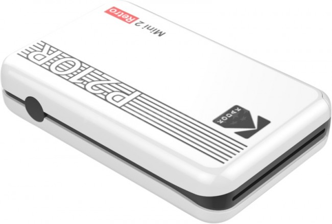 Kodak Printer Mini 2 Plus Retro Biały - zdjęcie główne