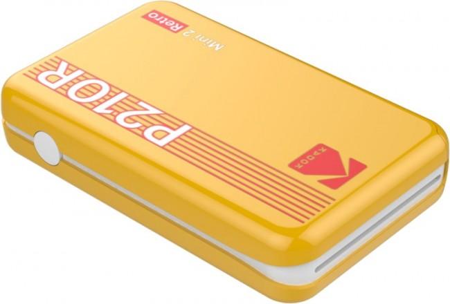 Kodak Printer Mini 2 Plus Retro Żółty - zdjęcie główne
