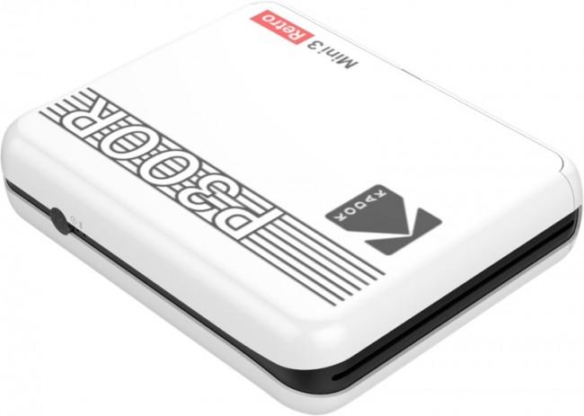 Kodak Printer Mini 3 Plus Retro Biały - zdjęcie główne