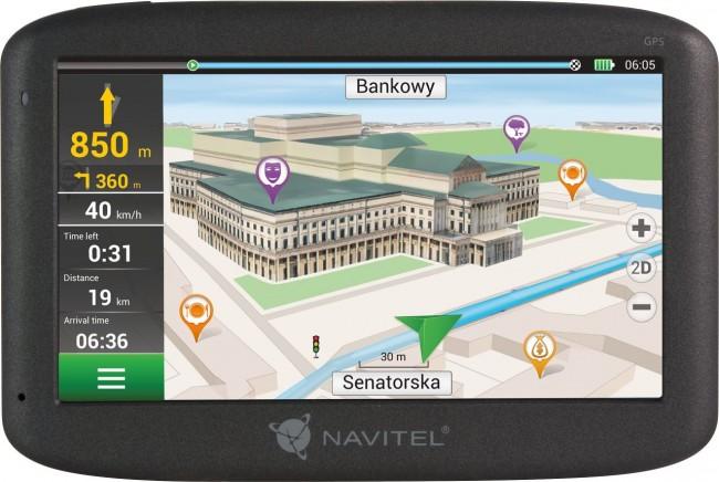 Navitel MS600 - mapa Europy + Rosja, Kazachstan - zdjęcie główne