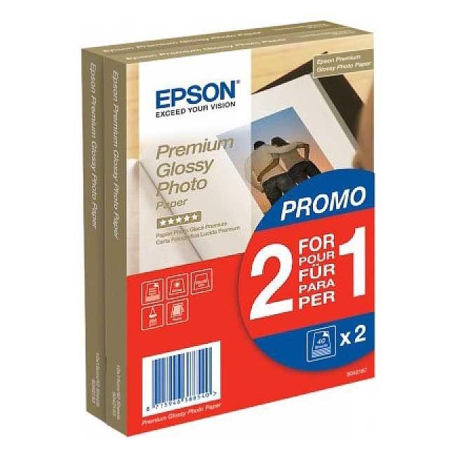 Epson Premium Glossy Photo Papier 255g/m2, 10 x 15cm, 80 ark. - zdjęcie główne