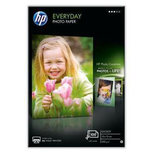 HP Papier everyday glossy Photo [200g ; 10x15cm ; 100 arkuszy] - zdjęcie główne