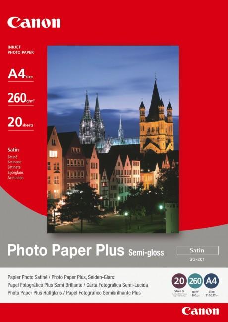 Canon Papier SG201 A4 20SH - zdjęcie główne