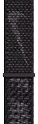 Apple Opaska sportowa Nike w kolorze czarnym do koperty 45 mm - zdjęcie główne