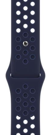Apple Pasek sportowy Nike w kolorze Midnight Navy/Mystic Navy do koperty 45 mm - zdjęcie główne