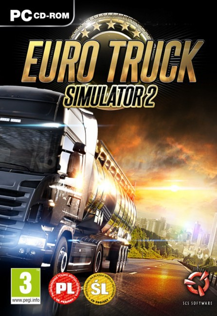 Gamebook Euro Truck Simulator 2 + Go East! Ekspansja Polska (PC)