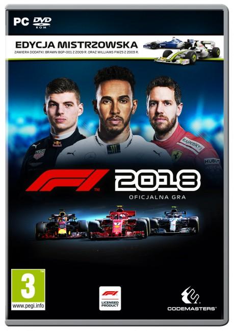 F1 2018 Edycja Mistrzowska (PC) - zdjęcie główne