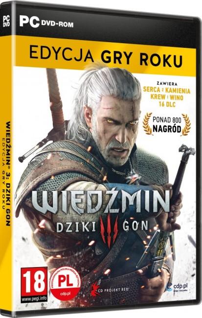 Wiedźmin 3 Dziki Gon (PC) Edycja Gra Roku - zdjęcie główne