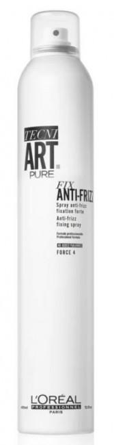 L'oreal Tecni Art Pure Fix Anti-Frizz Fixing Spray Force4 250 ml - zdjęcie główne