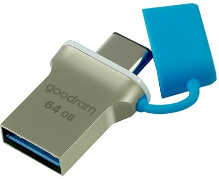 GOODRAM 64GB ODD3 czarny [USB 3.0 / USB type C] - zdjęcie główne