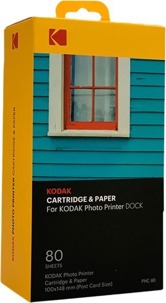 """Kodak Cartridge 4x6"""" 80-pack PHC-80 - zdjęcie główne"""