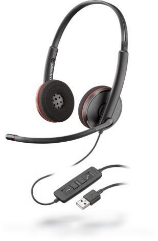 Plantronics Blackwire C3220 Czarne - zdjęcie główne