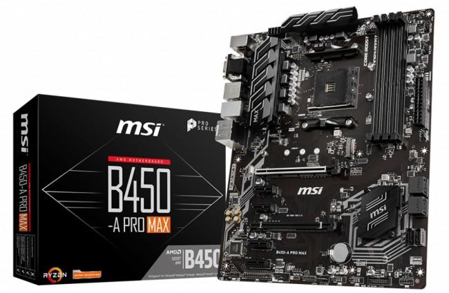 MSI B450-A PRO MAX - zdjęcie główne