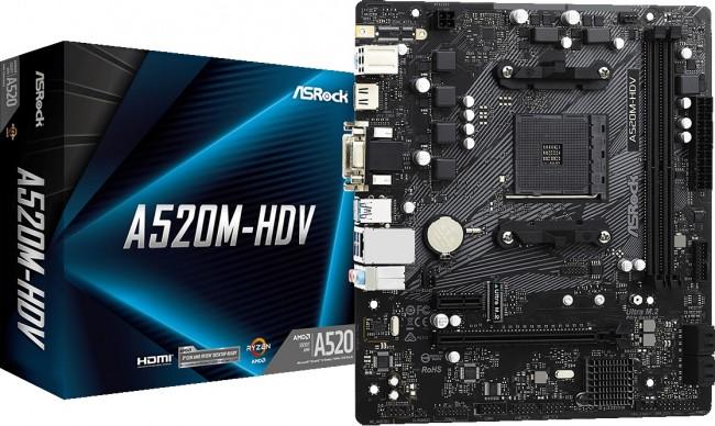ASRock A520M-HDV - zdjęcie główne