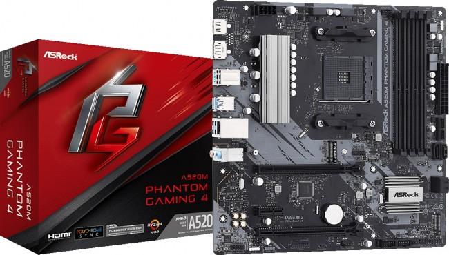 ASRock A520M Phantom Gaming 4 - zdjęcie główne