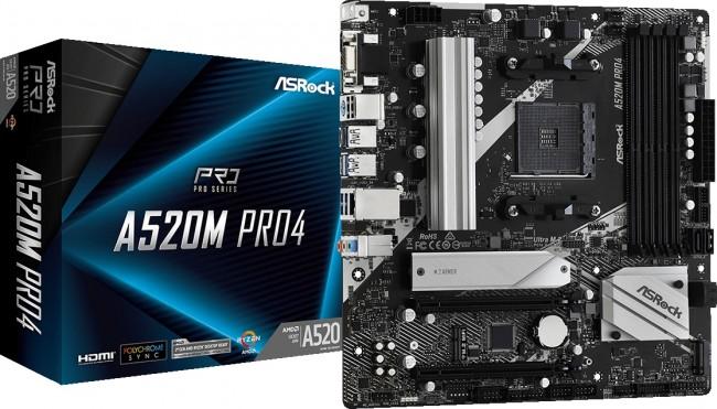 ASRock A520M Pro4 - zdjęcie główne
