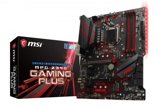 MSI MPG Z390 GAMING PLUS - zdjęcie główne