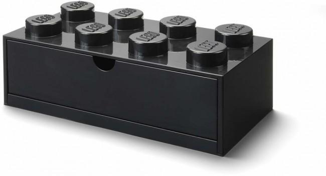 Lego Desk Drawer 8 czarny - zdjęcie główne