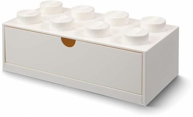Lego Desk Drawer 8 biały - zdjęcie główne