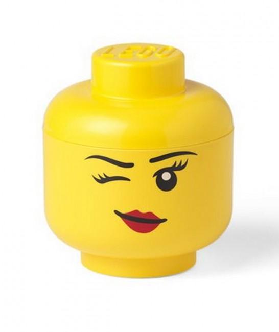 Lego Mała Głowa - Dziewczynka Oczko - zdjęcie główne