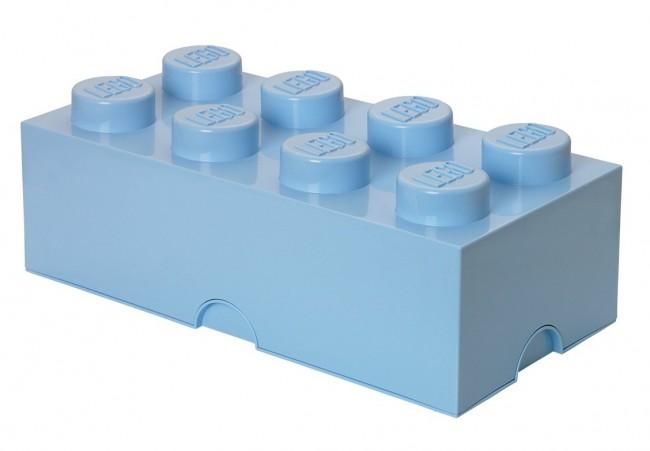 Lego Storage Brick 8 jasnoniebieski - zdjęcie główne