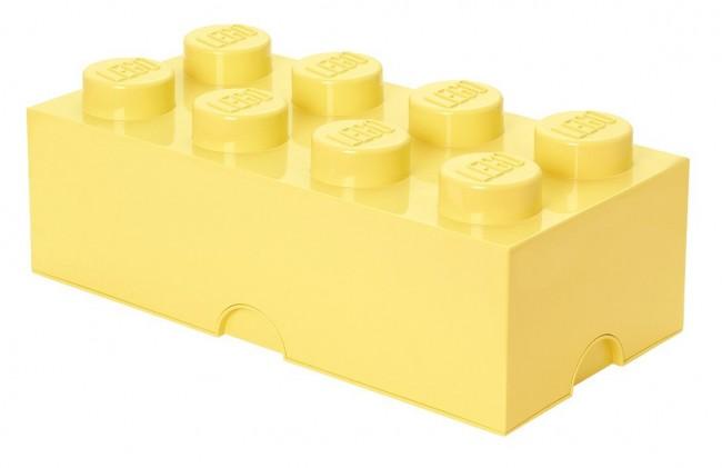 Lego Storage Brick 8 jansożółty - zdjęcie główne