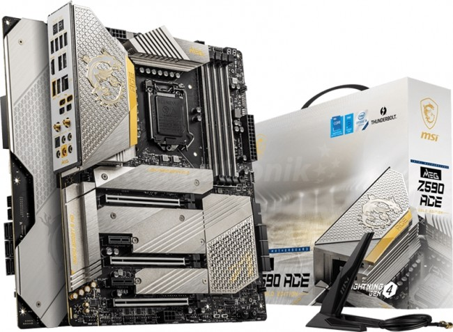 MSI MEG Z590 ACE GOLD EDITION - zdjęcie główne