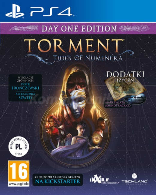 Torment Tides of Numenera (PS4) - zdjęcie główne