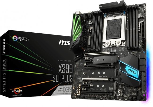 MSI X399 SLI PLUS - zdjęcie główne
