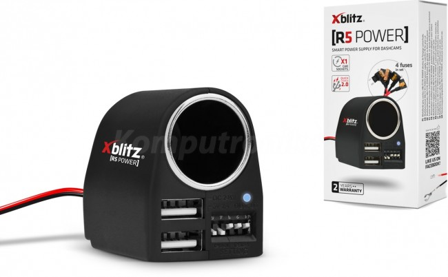Xblitz R5 Power - zdjęcie główne
