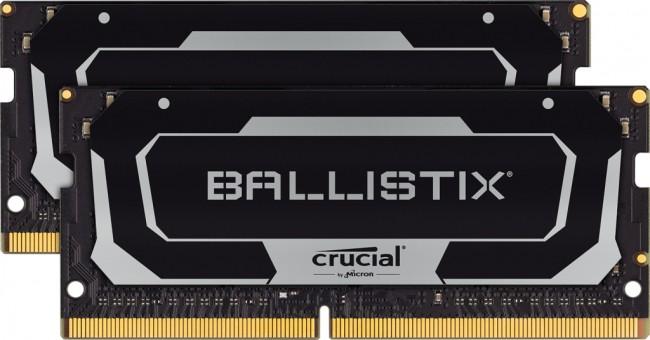 Crucial Ballistix 16GB [2x8GB 3200MHz DDR4 CL16 SODIMM] - zdjęcie główne