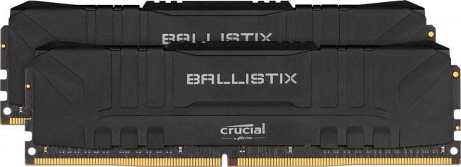 Crucial Ballistix Black 16GB [2x8GB 3600MHz DDR4 CL16 DIMM] - zdjęcie główne