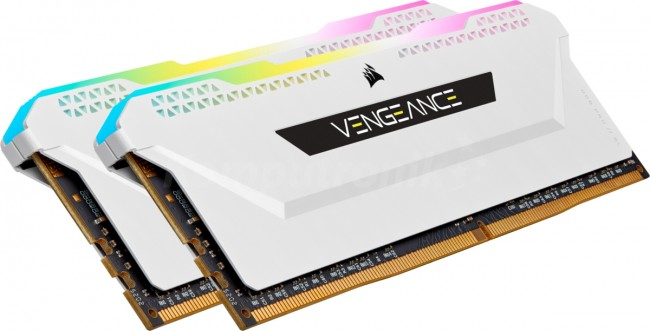 Corsair Vengeance RGB Pro SL White 16GB [2x8GB 3600MHz DDR4 CL18 DIMM] - zdjęcie główne