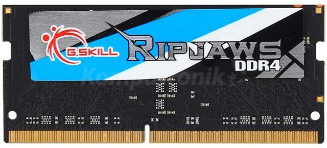 G.SKILL Ripjaws 4GB [1x4GB 2133MHz DDR4 CL15 SO-DIMM] - zdjęcie główne
