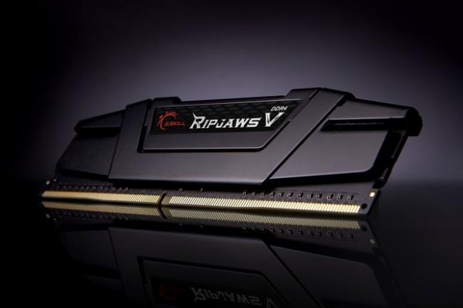 G.SKILL RipjawsV 64GB Black [4x16GB 3200MHz DDR4 CL16 XMP2 DIMM] - zdjęcie główne