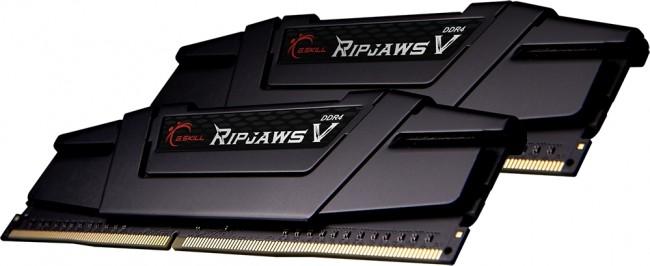 G.SKILL RipjawsV Black 16GB [2x8GB 3600MHz DDR4 CL18 XMP2 DIMM] - zdjęcie główne