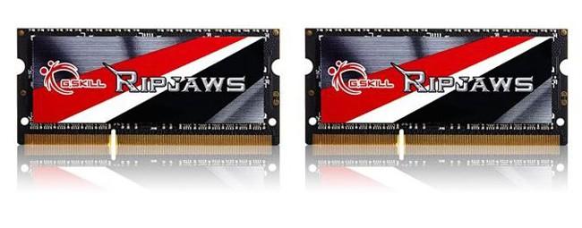 G.SKILL Ripjaws 16GB [2x8GB 1600MHz DDR3 CL9 1.35V SODIMM] - zdjęcie główne