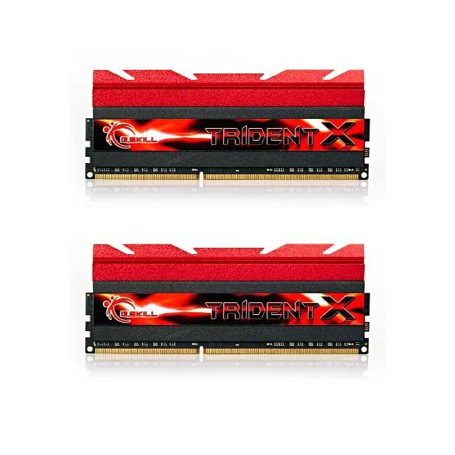G.SKILL TridentX 8GB [2x4GB 2400MHz DDR3 CL10 1.65V XMP DIMM] - zdjęcie główne