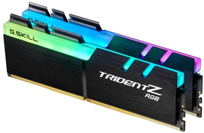 G.SKILL Trident Z RGB 16GB [2x8GB 3200MHz DDR4 CL16 1.35V XMP 2.0 DIMM] - zdjęcie główne