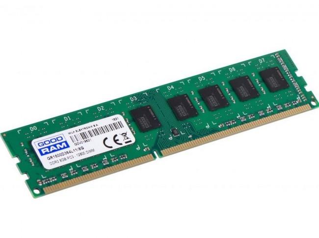 GOODRAM 8GB [1x8GB 1600MHz DDR3 CL11 DIMM] - zdjęcie główne