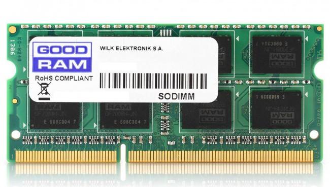 GOODRAM 8GB [1x8GB 1600MHz DDR3 CL11 1.35V SODIMM] - zdjęcie główne