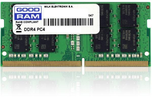 GOODRAM 4GB [1x4GB 2666MHz DDR4 CL19 SR SODIMM] - zdjęcie główne