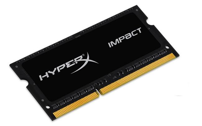 HyperX Impact 8GB [1x8GB 1600MHz DDR3L CL9 1.35V SODIMM] - zdjęcie główne