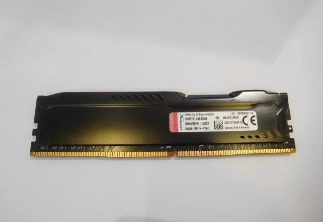 HyperX Fury Black 4GB [1x4GB 2133MHz DDR4 CL14 DIMM] [oferta Outlet] - zdjęcie główne