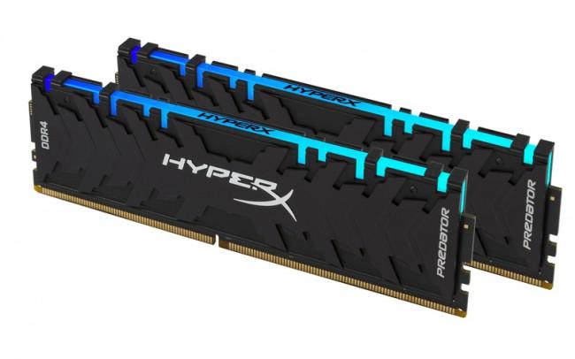 HyperX Predator RGB 16GB [2x8GB 3200MHz DDR4 CL16 XMP DIMM] - zdjęcie główne