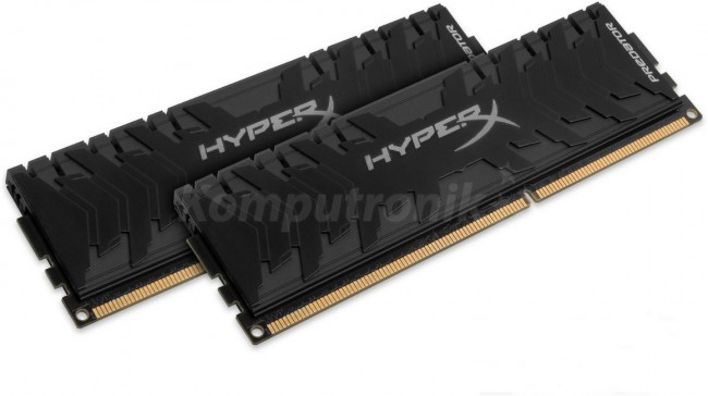 HyperX Predator XMP 16GB [2x8GB 3200MHz DDR4 CL16 DIMM] - zdjęcie główne