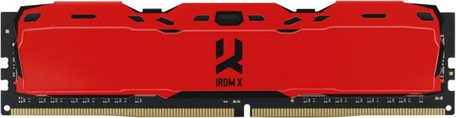 GOODRAM IRDM X 8GB Czerwona [1x8GB 3200MHz DDR4 CL16 DIMM] - zdjęcie główne