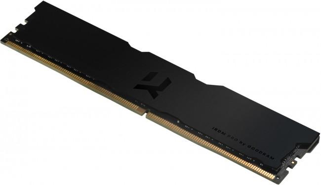 GOODRAM IRDM Pro 16GB [2x8GB 3600MHz DDR4 CL18 DIMM] Deep Black - zdjęcie główne