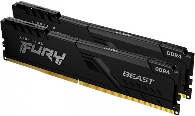 Kingston Fury Beast 16GB [2x8GB 2666MHz DDR4 CL16 DIMM] - zdjęcie główne